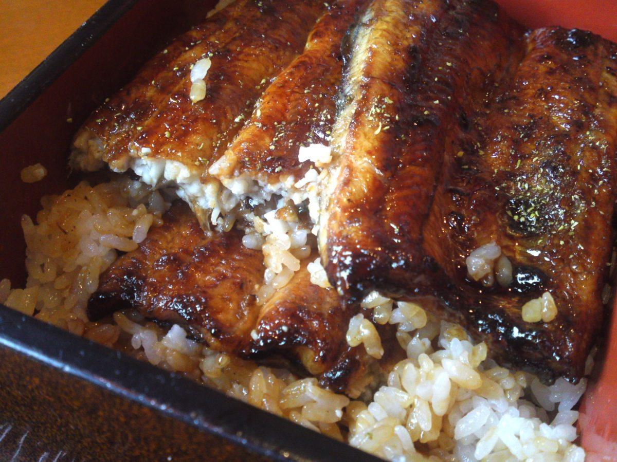 Anguilles au Restaurant Chigusa dans la ville de Hamamatsu!
