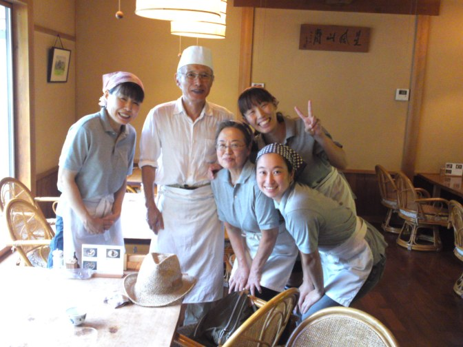 Restaurant de Soba Kishigami: Oroshi Soba, Saké de Shizuoka & Jambon fait-maison!