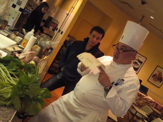 Visite du Cordon Bleu Japan, Inc., Tokyo et Rencontre Avec Chef Dominique Corby!