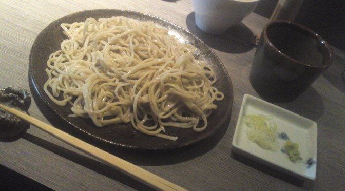 Soba: Nouiiles au Sarrasin Natif de la Préfecture de Shizuoka: Restaurant Teuchi Soba Tagata dans la Ville de Shizuoka: Restaurant Tagata Zairai Soba dans la Ville de Shizuoka!