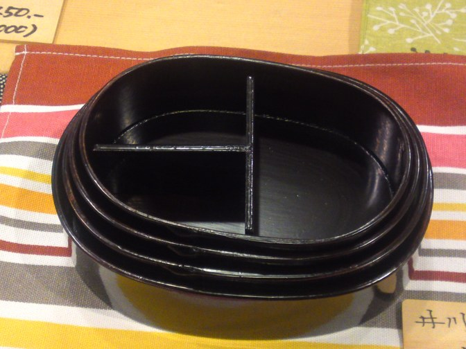 Coffrets Repas ou Boîtes Bentō:  Boîtes Bentō Ikawa Mempa par Artiste Artisanal Yoshiaki Mochizuki!