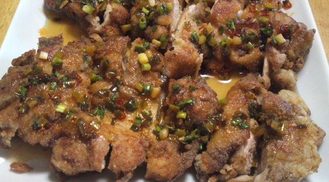 Poulet frit à la Japonaise: Karaagé par le Dragon (le vrai!)