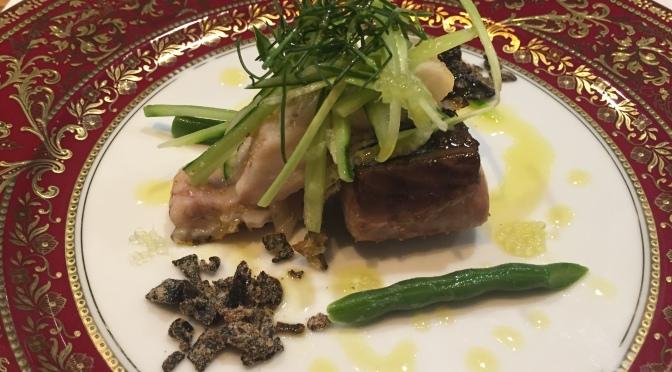 Dînerau Restaurant French Kappo Dominique Corby à Tokyo!