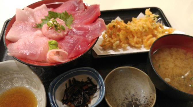 Déjeuner de Sashimi et Sushi au Restaurant Maguro Ichigo dans le Port de Pêche de Shimizu, Ville de Shizuoka!