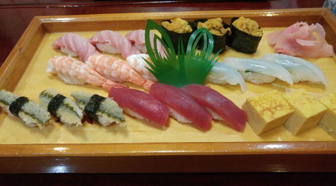 DÎner Sushi à Miyako Sushi, Ville de Shizuoka!